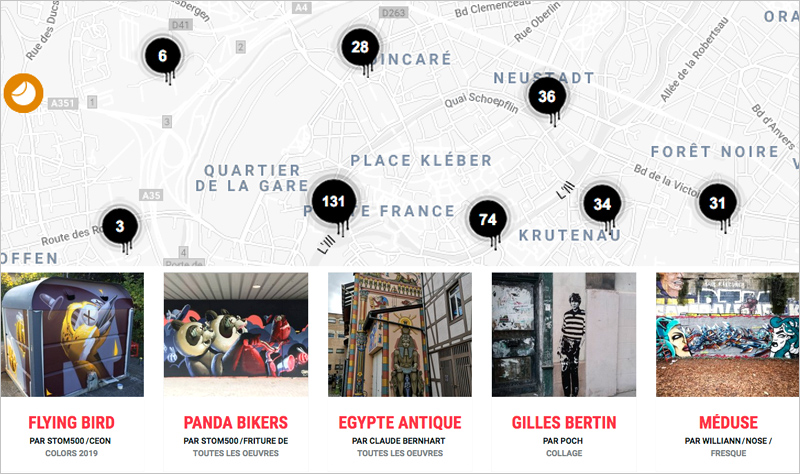 EVENTS Strasbourg au  GRAFFALGAR